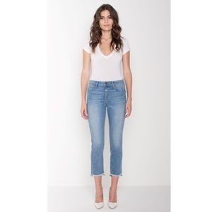 Parker Smith Straight Cropped Raw Hem Jeans 26 NWT